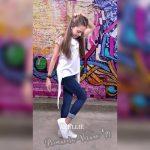 remeras algodon asimetrica para niñas Abellie verano 2019