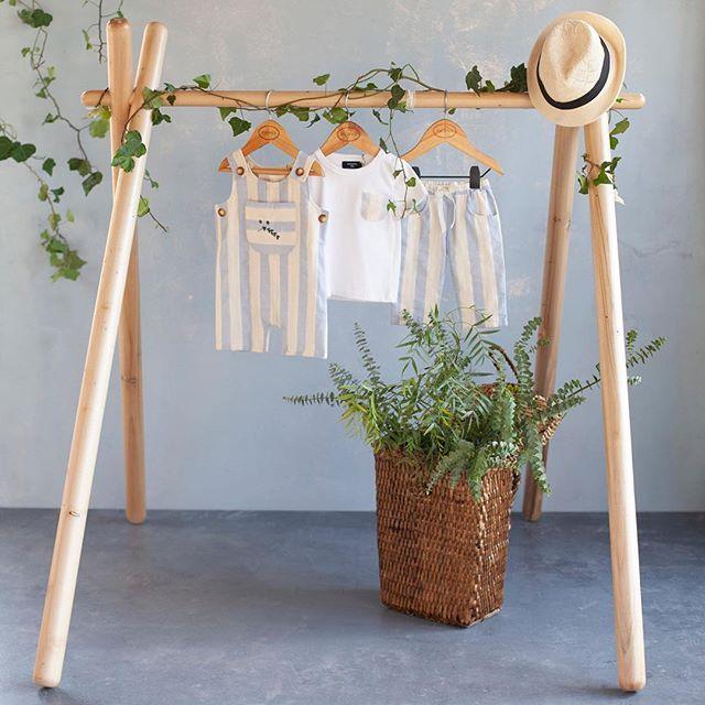 ropa de lino para niños pioppa primavera verano 2019