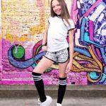 short cebra deportivo niñas Abellie verano 2019