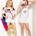 short y enterito blanco para niñas Kosiuko Kids primavera verano 2019