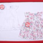 vestido blanco para fiesta o bautismo beba Solcito primavera verano 2019