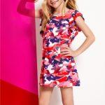 vestido corto camufaldo niña Kosiuko Kids primavera verano 2019
