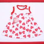 vestido de algodon para beba Solcito primavera verano 2019
