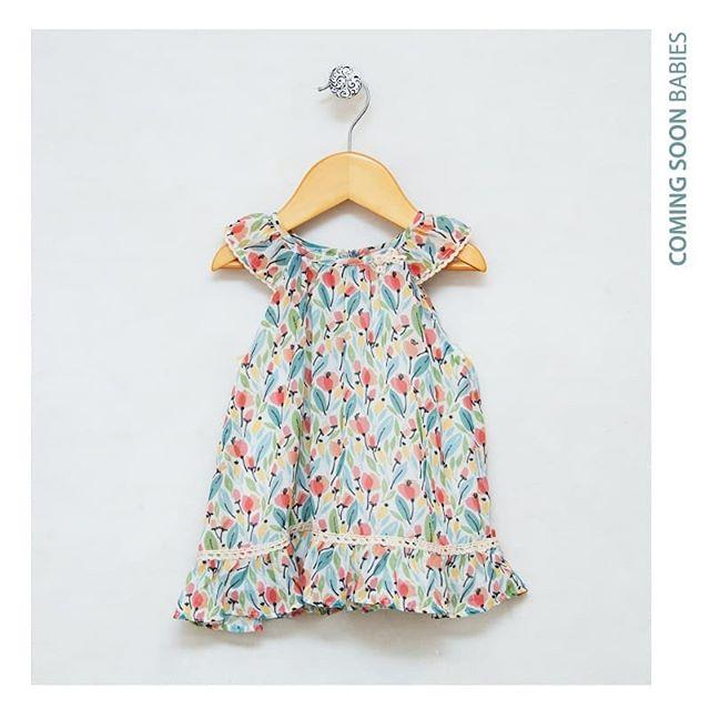 vestido estampado para beba Anavana primavera verano 2019