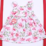 vestido floreado ideal fiesta beba Solcito primavera verano 2019