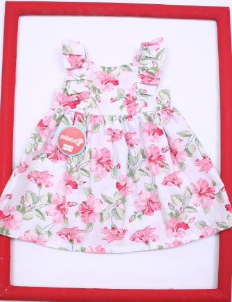 abf6ac0a4 vestido floreado ideal fiesta beba Solcito primavera verano 2019