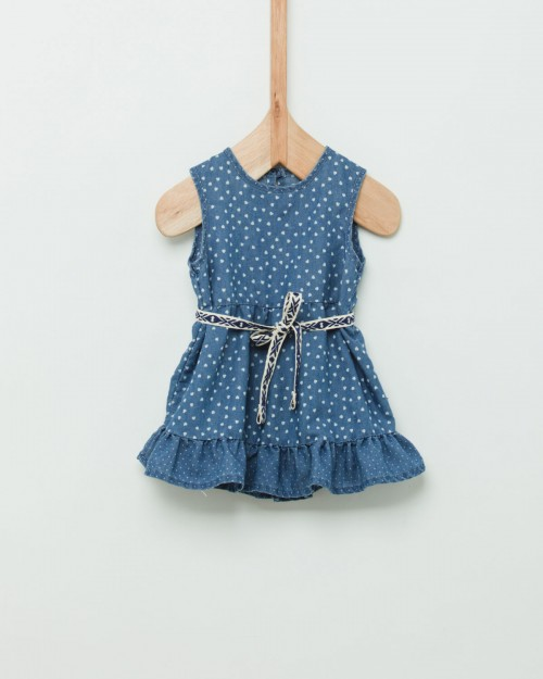 vestidon denim beba Wanama Boys  Girls verano 2019