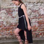 vestidos asimetricos para nenas Abellie verano 2019