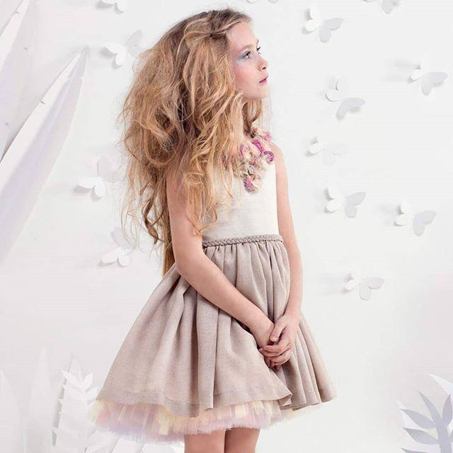 vestidos de fiesta originales para niñas Girls Boutique verano 2019