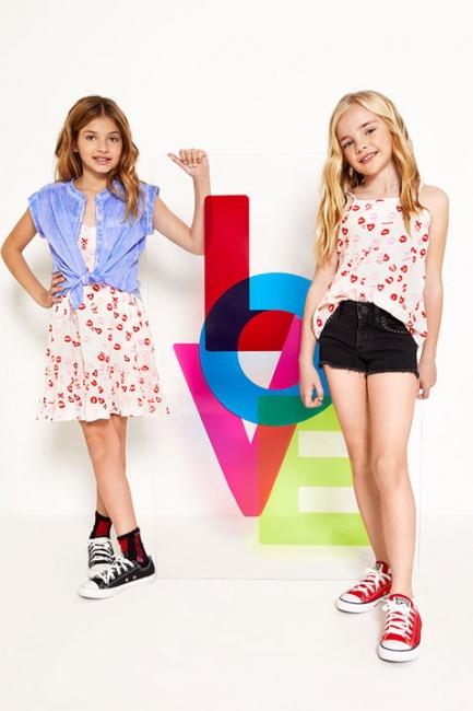 vestidos y blusas para niñas Kosiuko Kids primavera verano 2019