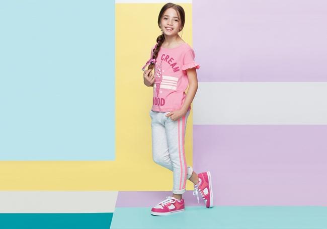 zapatillas deportivas rosa chicle niñas Atomik verano 2019