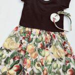 minifalda estampada para niñas Little akiabara verano 2019