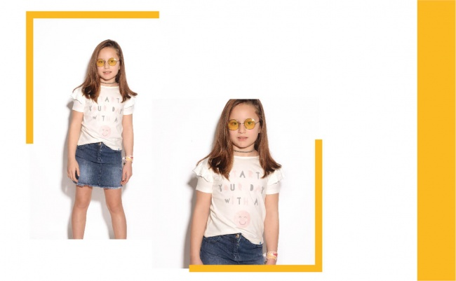 minifalda jeans niña advanced verano 2019