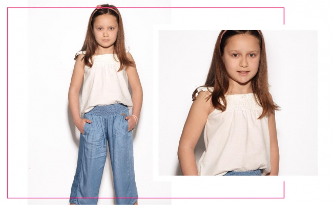 pantacort denim palazzo niña advanced verano 2019