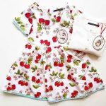 vestdo frutillas niña Little akiabara verano 2019