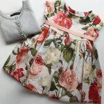 vestidos de fiesta para bebas Little akiabara verano 2019