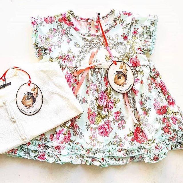 vestidos para beba Little akiabara verano 2019