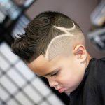 dibujos en rapada cortes de pelo para niños verano 2019