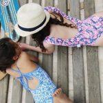 Mallas para niñas verano 2019