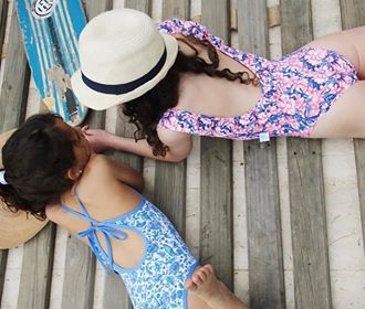 mallas enteriza nenas la flor de lavanda verano 2019