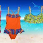 mallas y bikinis para niñas viento y olas verano 2019