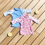 remeras para la playa de bebes MInoli verano 2019