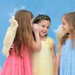vestido microtul colores para fiesta para niñas Gro Web verano 2019