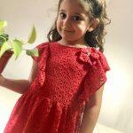 vestido rojo de fiesta para niñas Gro web verano 2019 e1541980413708