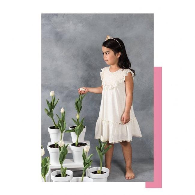 vestidos blanco para año nuevo 2019 niñas magdalena esposito