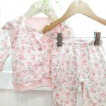 conjunto flores rosa beba Dicen mis sueños verano 2019