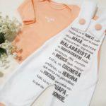 jardinero algodon para bebes Dicen mis sueños verano 2019