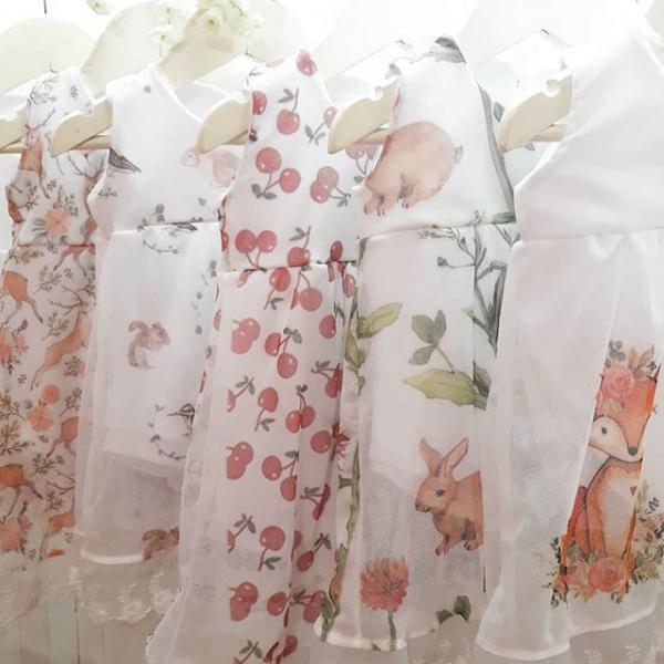 vestidos para bebas Dicen mis sueños verano 2019