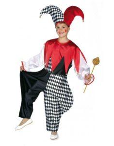 Disfraz carnaval arlequin niño