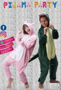 Pijamas de peluche para niños Tipitos kids otoño invierno 2019 1