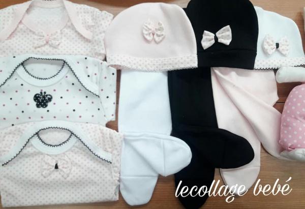 a5b5c7a994d1 Ajuares para bebes Lecollage otoño invierno 2019 | Minilook