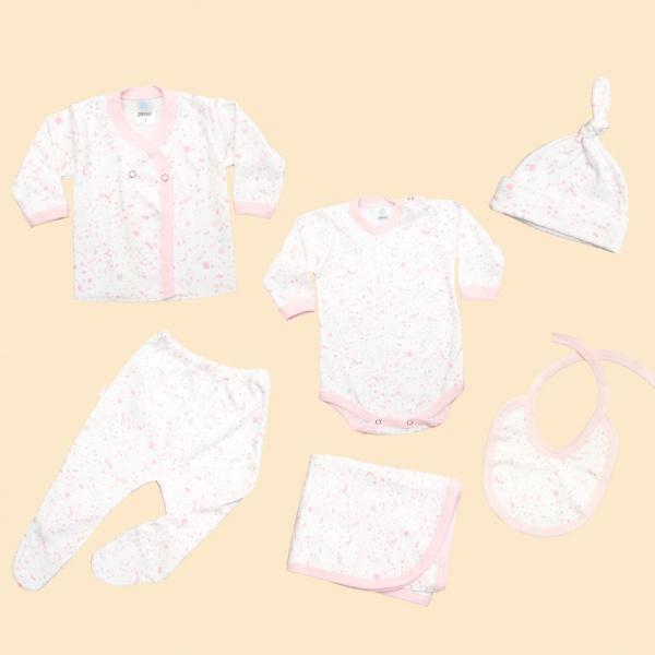 ajuar completo algodon para bebes Gamise otoño invierno 2019