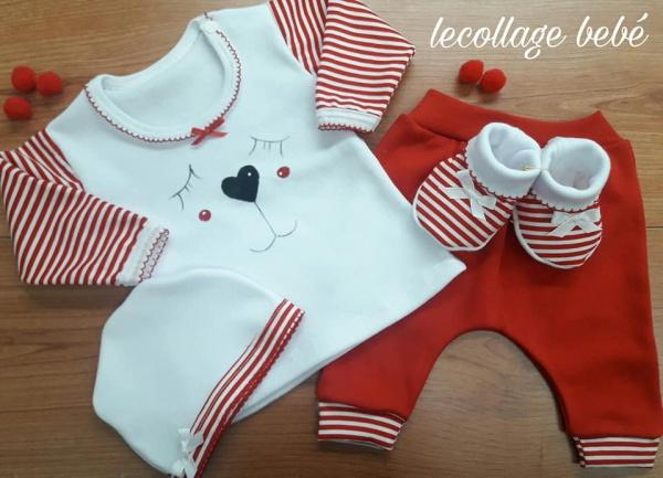 ajuares para bebe de diseños exclusivos Lecollage otoño invierno 2019