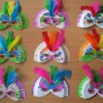 antifaces facil y economico carnaval