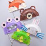 antifaz economico reciclaje niños