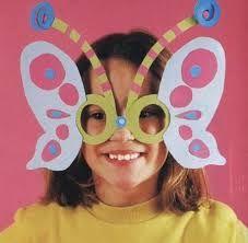 antifaz mariposa niña