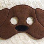 antifaz perro para niños