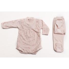 body-con-pantalón-en-plush-bordado Beba Cocomiel otoño invierno 2019