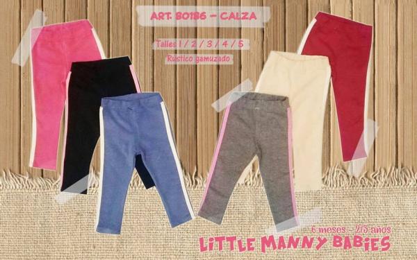 calzas para bebas Little manny otoño invierno 2019