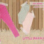calzas para niña de corderoy con lycra Little manny otoño invierno 2019