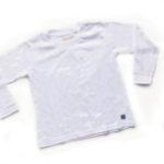 camiseta blanca lisa colegial gimos 2019