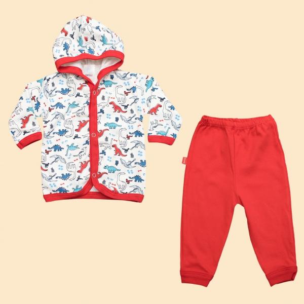 campera y pantalon algodon bebe Gamise otoño invierno 2019