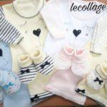 conjuntos ajuares bebes Lecollage otoño invierno 2019