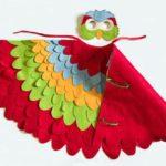 disfraz de pajaro facil para niños