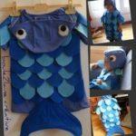 disfraz de pez para niños
