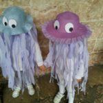 disfraz facil de meduza para niños